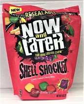 Now & Later Shell Shocked Candy Coated Chewy Bi... - $5.45