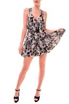 Free people Women's Washed Ashore Mini Dress Black Size XS RRP £97 BCF77 - $89.53