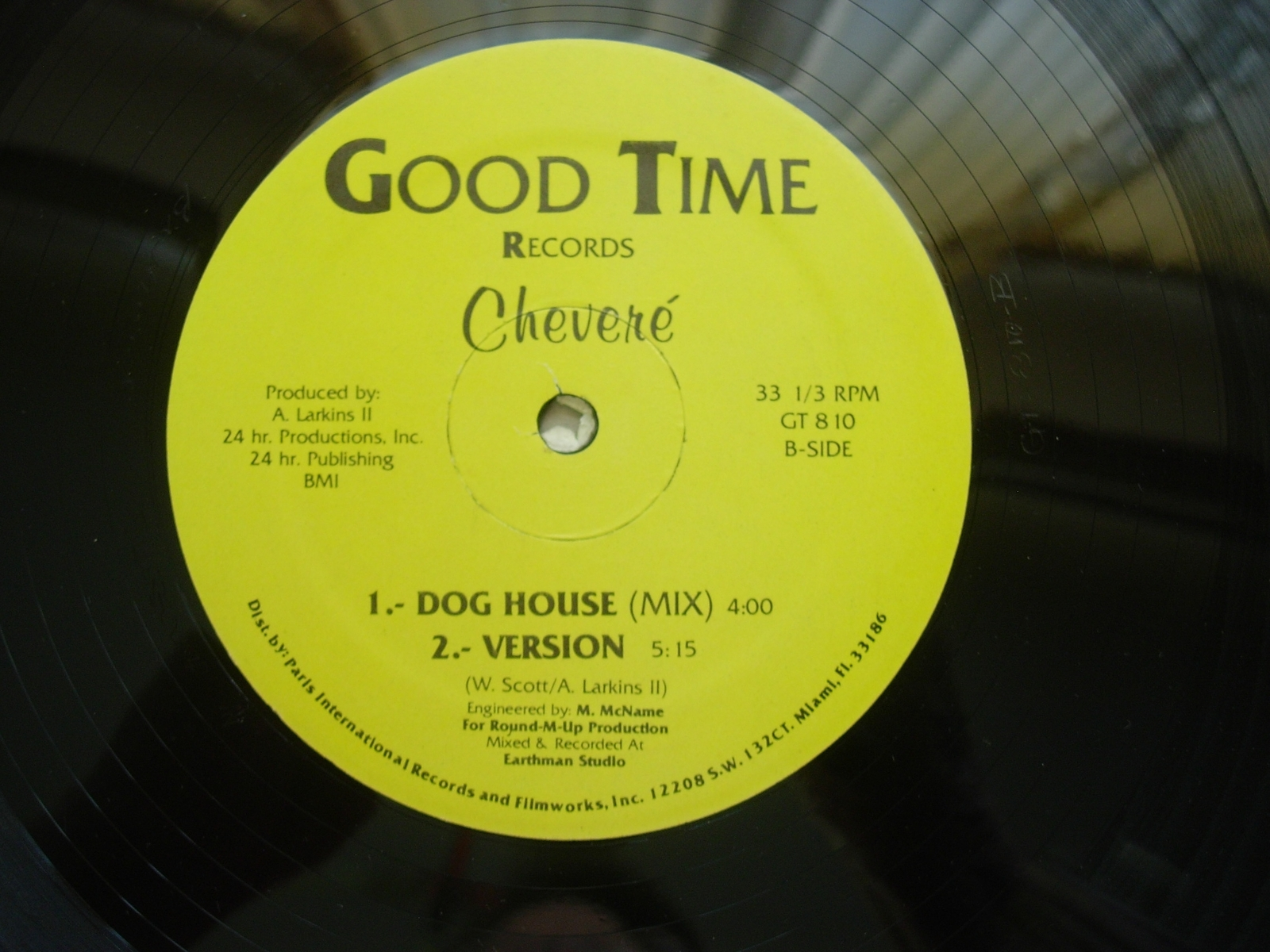 Chevere - Use It Don't Lose It - Good Time Records GT810