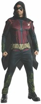 Rubies Batman Arkham City Robin Cape Jumpsuit Adult Halloween Costume 88... - €52,35 EUR