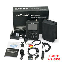 SATlink WS-6906 3.5'' DVB-S FTA Data Digital Satellite Dish Signal Finde... - $129.00