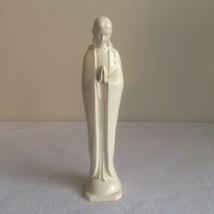 MJ Hummel Praying Madonna Statue White Simple & Elegant Mother Mary 46/0... - $18.00