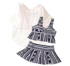 Three-piece Sets Of Women Fashion Slim Swimsuit With Smock - $30.97