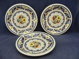 "3 Wedgwood Breton 6"" Bread Dessert Plates  Very Good Condition - $15.00"