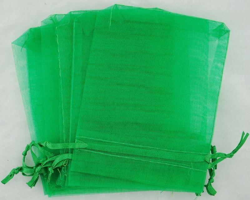 AAA8: 12.5cm x 18cm Organza Bags Wedding Favor Gift Candy Drawstring Bag100 pcs