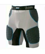 FOOTBALL GEAR PRO-TEC Z-COOL PRO 5 PADDED SHORTS K1 - $40.49