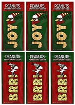 McSteven's - Peanuts Snoopy Peppermint and S'mores Cocoa, 1.25 Ounce Pack of 6 -
