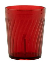 G.E.T. Enterprises 2206-1-R 6 oz. Tumbler, Red Pack of 12 - $27.94