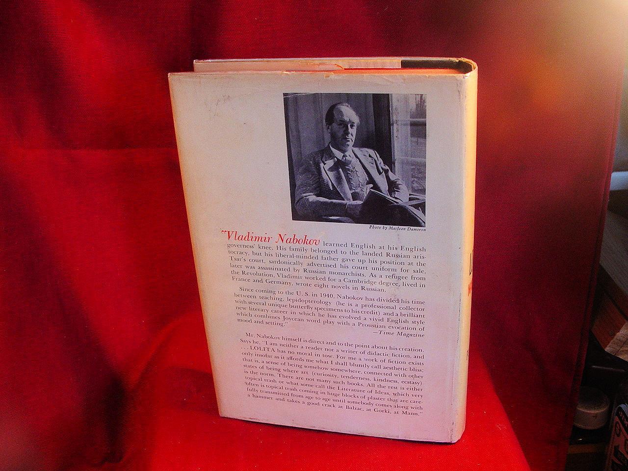 LOLITA Vladimir Nabokov - First U.S. edition