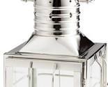 Candleholder CYAN DESIGN REMINGTON Medium Nickel Glass
