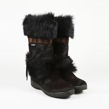 Tecnica Brown Fur Boots SZ 10 - $140.00