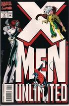 X-Men Unlimited 4 5 6 Marvel Comic Books 1994 Wolverine / Sabertooth Nea... - $2.69