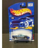 2001 Hot Wheels #74 Loco-Motive Sreies 2/4 Pontiac Banshee: 50109 - $1.85