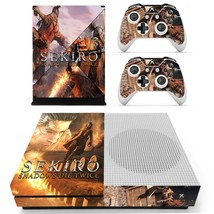 Sekiro Shadows Die Twice decal xbox one S console and 2 controllers - $15.00