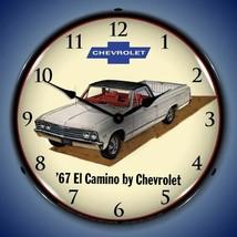 1967 Chevrolet El Camino old car new  LIGHT UP clock USA Made Free Fast ... - $129.95