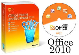 Microsoft Office 2010 Home and Business 32/64bit with DVD Full Version  - $145.00