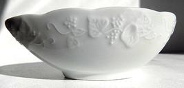 Vintage Dansk Grapevine Ivy White Avocado Bowl - $17.99