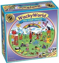 Wacky World Board Game for Kids - Ages 6 and up - $39.74