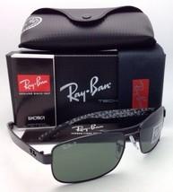 Neu Polarisiert Ray-Ban Tech Serie Sonnenbrille RB 8316 002/N5 62-18 Schwarz W /