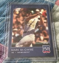 2019 Topps 150 Years of Baseball #6 - MARK McGWIRE - Online Exclusive SP... - $5.95