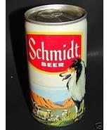 Vintage SCHMIDT BEER Steel Can Dog & Sheep G. Heileman - $9.99