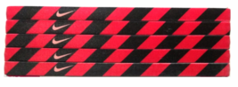 Nike Unisex Running All Sports RED BLACK DESIGN  Sports Design Headband NEW - $6.50