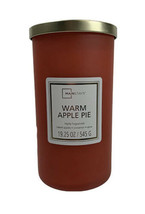 Mainstays Warm Apple Pie Frosted Glass Single-Wick Candle, 19 oz. - $19.30