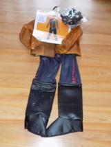 Boys Size Small 4-6 Disney Star Wars Han Solo Halloween Costume Rubie's New - $30.00