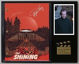 "The Shining Ltd Edition Reproduction Signed Cinema Script Display ""C3"" - $85.45"