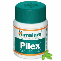 3x Himalaya Herbal Pilex 60 Tablets For Microbial Infection Anal Fissures - $12.90