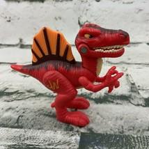 Jurassic World Dinosaur Figure Red Raptor Fringe - $13.86