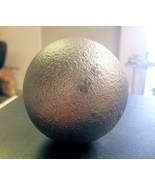 """3"""" Cast Iron Ball crafts wrought iron fences cannon ball replica solid h... - $16.99"""