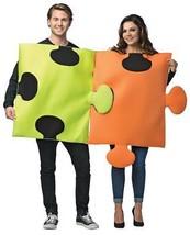 Puzzle Pieces Couples Adult Costume Halloween Unique Funny Party GC6197 - €47,10 EUR
