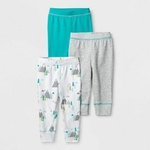 Cloud Island Infant Boys  Baby Bottoms 3 Pack Pants 3-6 M NWT - $5.19