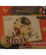 Tim Allen Clock Project Kit for Ages 3-103 NEW FACTORY SEALED - $22.27
