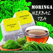 Moringa Tea - Natural Ceylon Herbal tea bags- Body Energizer- 25 tea bags/Pouch - $6.46