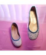 Tipsyskipper Blue White Women's Slip On Flats Size 6 B - $16.95