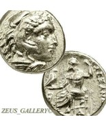 ALEXANDER the Great Rare LIFETIME Issue Ancient Coin Herakles Zeus Drach... - $584.10