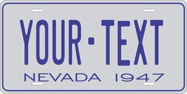 Nevada 1947 License Plate Personalized Custom Auto Bike Motorcycle Moped key tag - $10.99+