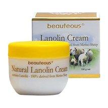 Natural Lanolin Cream with Lanolin from Merino Sheep, Colostrum and Vitamin E - $16.95