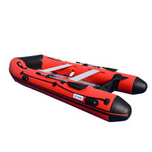 BRIS 12ft Inflatable Boat Dinghy Raft Pontoon Rescue & Dive Raft Fishing Boa image 5