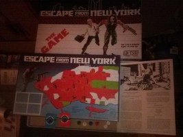Escape From New York 1981 Tsr Board Game - £181.79 GBP