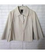George Tan Blazer Jacket Size 10 - $21.99