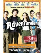 Adventureland jessy eisenberg ryan reynolds kristen stewart DVD movie ra... - $24.29