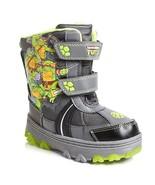 Boys TMNT Teenage Mutant Ninja Turtles Snow Boots Size 7 or 8 Toddler Li... - $22.99