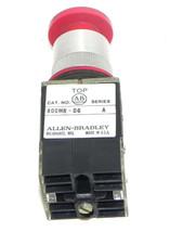 ALLEN BRADLEY 800MR-D6 SER. A PUSH BUTTON 800MRD6 W/ 800M-XA B CONTACT BLOCKS image 1