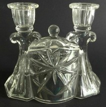 Early American Prescut EAPC Double Candlestick Candle Holder - $18.76