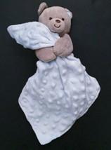 Carter's Child Of Mine Teddy Bear W/ Blanket Lovey Rattle Plush Stuffed ... - $14.84