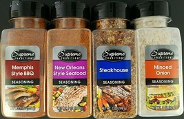 Culinary Seasonings Memphis BBQ, New Orleans Seafood, Steakhouse, Minced Onion, - $2.99