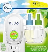 Plug in Air Freshener And Odor Eliminator Scented Oil Refill And Oil War... - $6.37